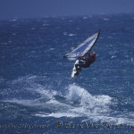 Windsurfing the central coast of California.