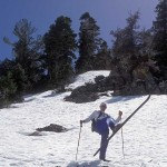 Back in the day when skis were skinny and kick-turns were for downhill too!