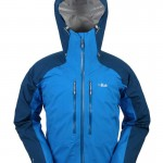 Rab's Stretch Neo Jacket in blue (they call it maya).