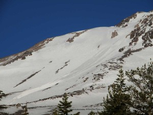 Tr Backcountry Skiing Mt Shasta S Hotlum Glacier