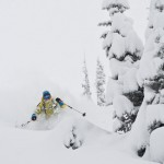 Greg Hill enjoying a slice of Canadian heaven.