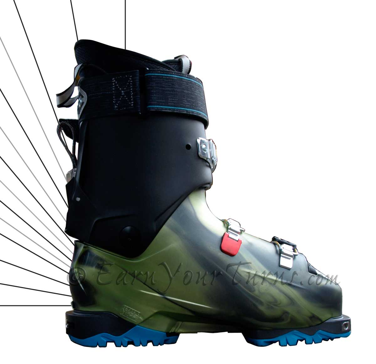 Backcountry Boot Review Tecnica S Cochise Earnyourturns