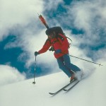Though know for promoting telemark, Allan knew it was about where you skied, not how.