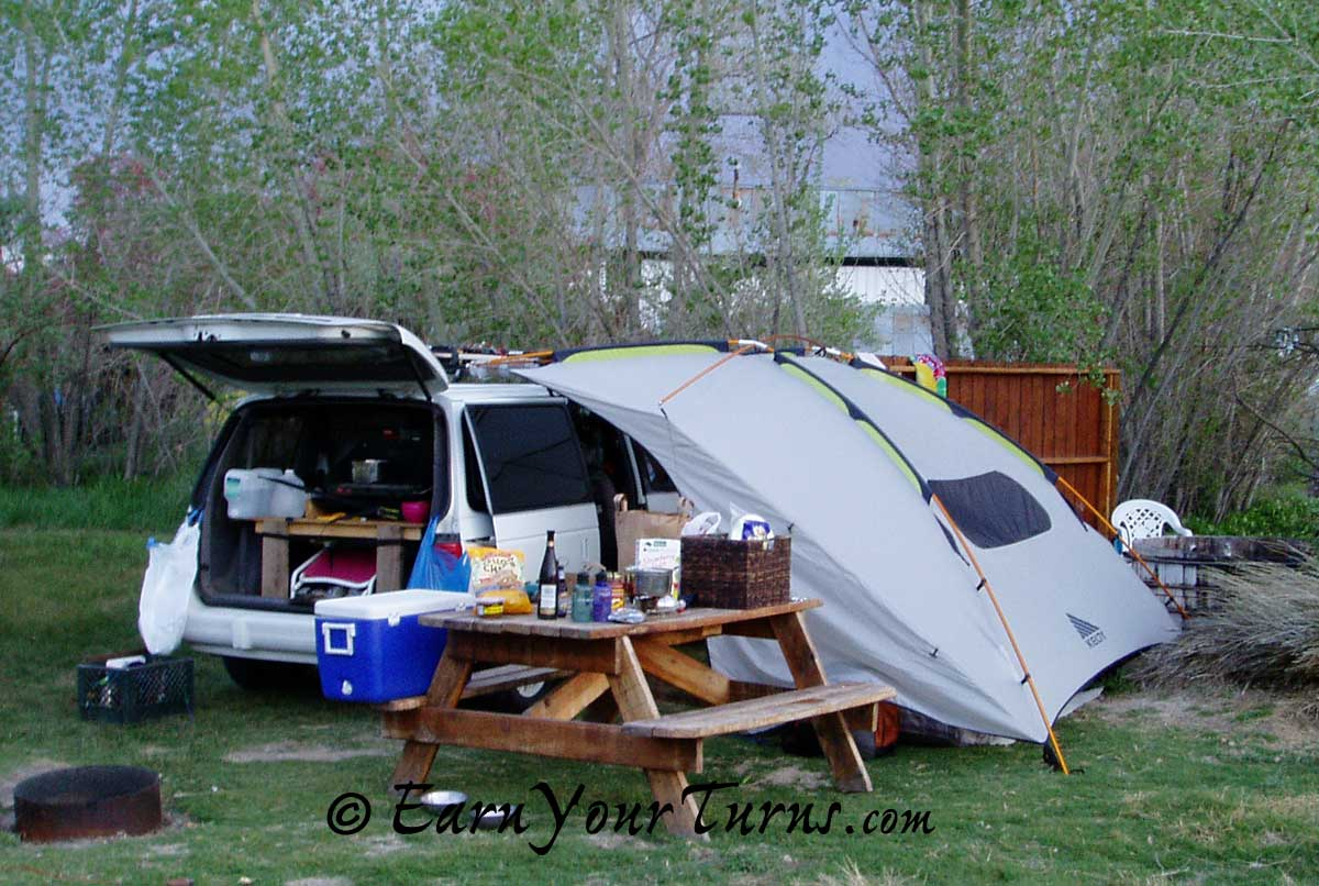 Use the carport however you see fit - spare bedroom or covered kitchen. & Review: Kelty Carport (take 2) | EarnYourTurns