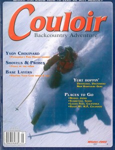 Couloir Vol. XV-4, Winter 2003