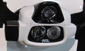 Petzl's NAO has 5 light modes, a fresnel lens for a smooth wide beam, rechargeable batteries, and Reactive Lighting for consistent illumination.