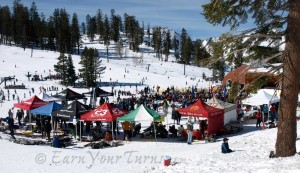 The biggest TeleFest in the west - at Bear Valley (circa 2008).