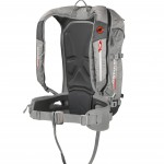 Light 30 has the typical airbag stuff - metal buckle, leg loop, trigger in the shoulder strap, plus PAS.