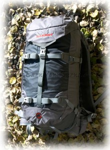 At just over 6 pounds, Mammut makes carrying an airbag pack more bearable.