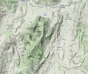 Google-eye view of Mt. Greylock.