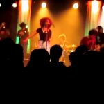 Orgone with Fanny Franklin at SLC's State Room. 23jan14