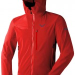 Dynafit does apparel too. And well. The Mercury DST. Breathable. Quiet. Sheds snow. Simple design.