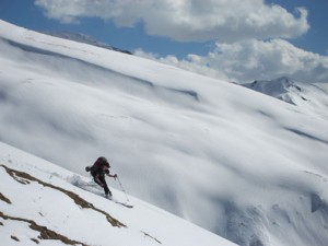 Skiing in Kashmir, India