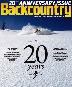 Backcountry is 20 years old.
