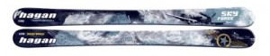 Sky Force kids touring skis. 125cm, 110-81-105mm 135cm, 112-81.5-107mm 145cm, 114-82-109mm