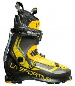 La Sportiva's Spitfire, light yet it packs some punch.